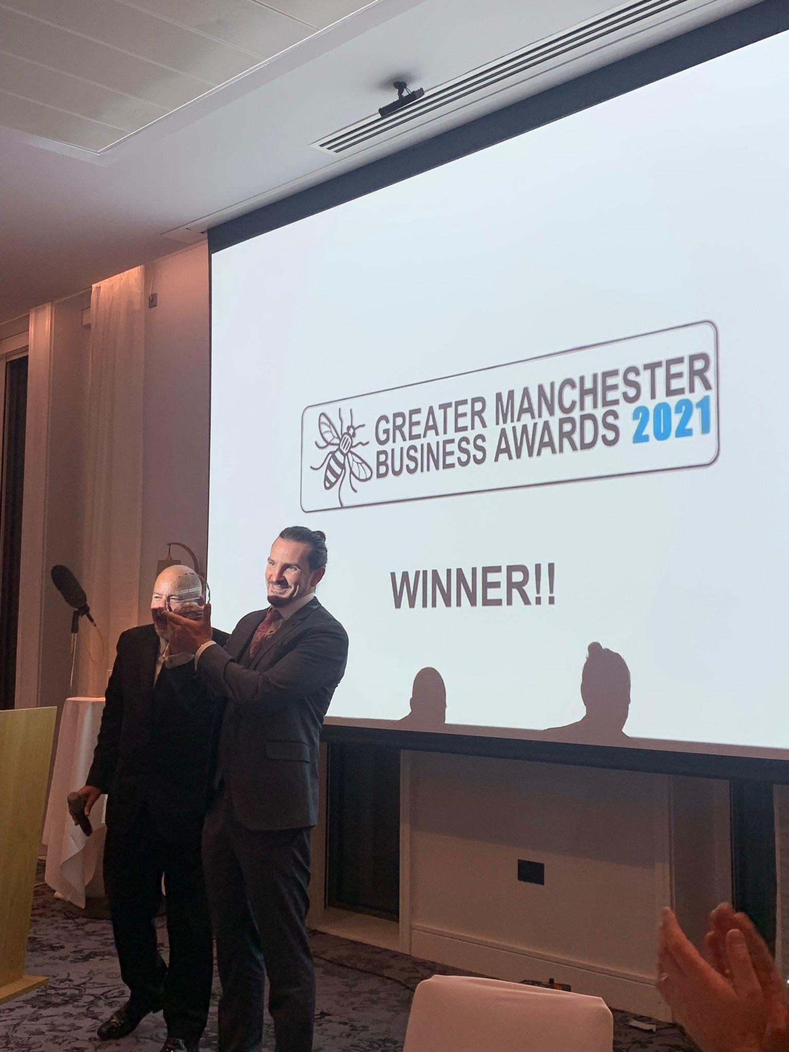 Winner of Masterchef Australia 2010, Adam Liaw, celebrates